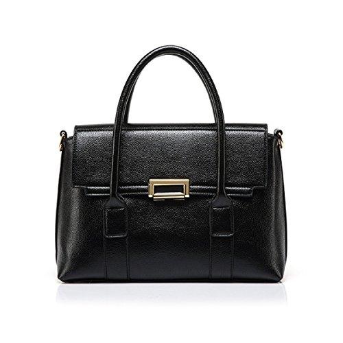 Donne Vintage Borsa Crossbody Bloccato Viaggio Tote Bags,Black Black