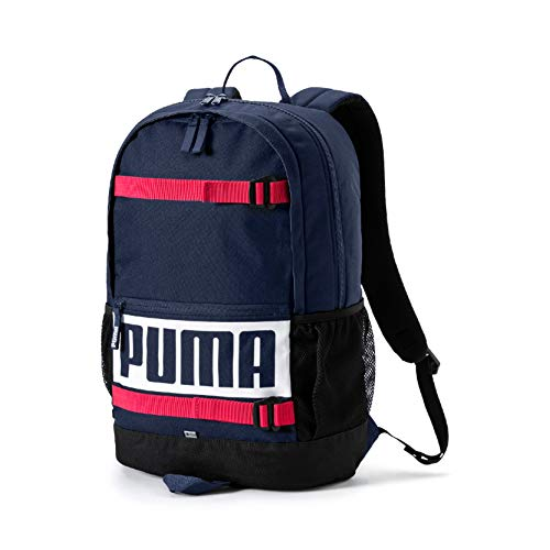 Puma Deck Backpack Rucksack, Peacoat, OSFA -