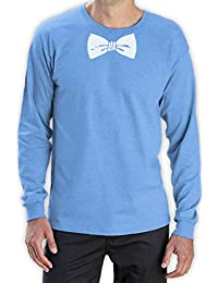 Printed Tuxedo White Bow Tie Funny Long Sleeve T-Shirt