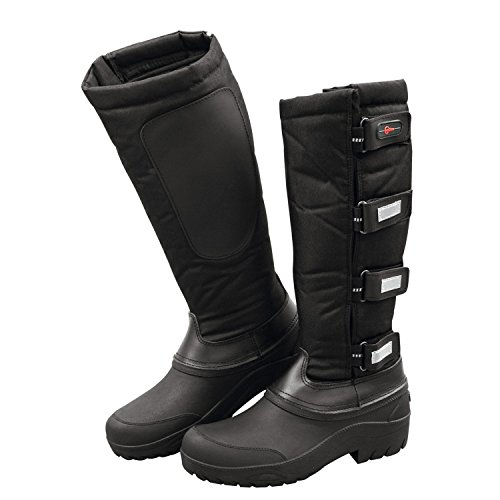 Covalliero Thermal Riding Boots - Black, Size 38