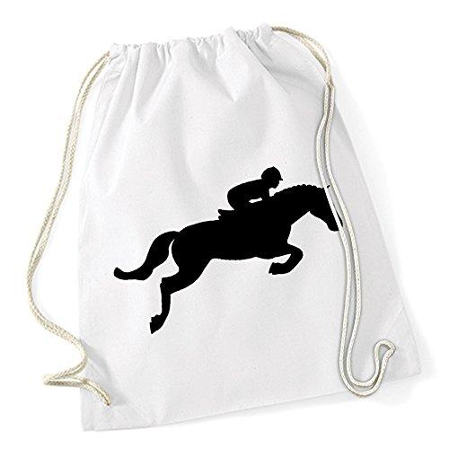 Horse Jumper Borsa De Gym Bianco Certified Freak