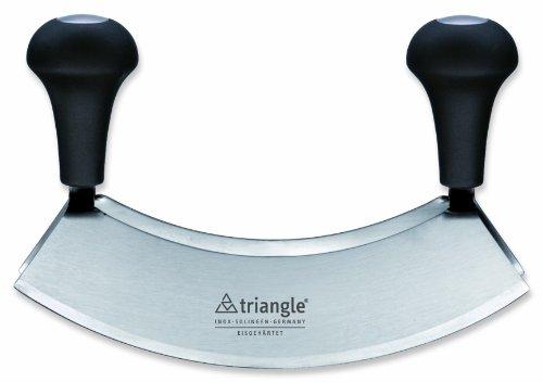 triangle 41 232 23 02 Wiegemesser 23 cm, zweischneidig, gehärtete Qualität