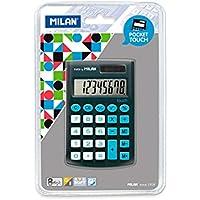 Kalkulator Milan kieszonkowy touch z satynowa matowa powloka w dotyku jak gumka na blistrze - Confronta prezzi