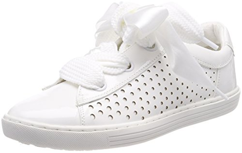 Marco Tozzi Damen 23601 Sneaker, weiß (white patent), 36 EU