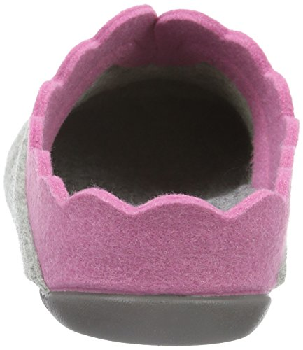 Florett Nesrin, Ciabatte Donna Multicolore (Mehrfarbig (grau-pink 615))