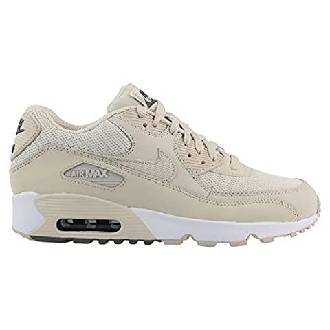 Nike Schuhe Air Max 90 Mesh (GS) light orewood brown-light orewood brown-river rock (833418-108) 40 beige