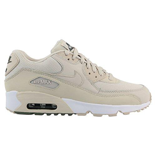 Nike Jungen Air Max 90 (GS) Beige Mesh Sneaker 37.5 (Jungen Se Schuhe)