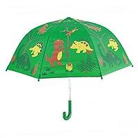 PANDA SUPERSTORE Childrens Rainy Day Umbrella/£¨0-7years Bright colors Kids Umbrella dinosaur