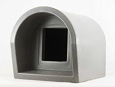 Mr Snugs KatDen Outdoor Cat Kennel/Shelter - Dark Grey (Various Options)