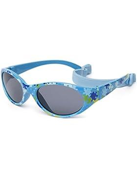 Gafas de sol para niño entre 2 y 6 años, hecho de goma TOTALMENTE FLEXIBLES, 100% protección rayos UVA y UVB,...