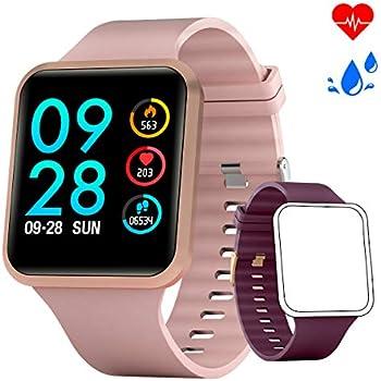 Smartwatch Mujer Reloj Inteligente con oxígeno y Monitor de ...