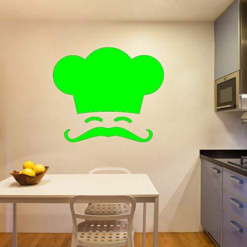 Abnehmbare Chef Wandaufkleber Entfernbare Wandaufkleber Tapete für Kinderzimmer Wohnzimmer Wohnkultur Removable 30 cm X 25 cm