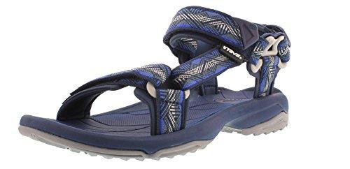 Teva terra fi lite m's sandali sportivi da uomo, blu (blau (geometric blue 913)), 48.5 eu