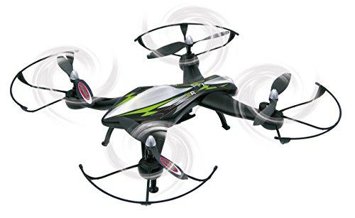 Jamara 422021 - F1X VR Altitude FPV Wifi Kompass Flyback - Race Drone, inklusiv VR-Brille, über Sender und App steuern, 3 Geschwindigkeiten, 40 KM/h, Höhenkontrolle (Barometer) und Rückflugautomatik - 4