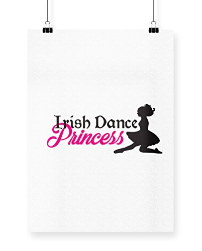 hippowarehouse Irish Dance Princess bedruckt Poster Wall Art Wand Design A3 (Kostüme Irish Dance Ceili)