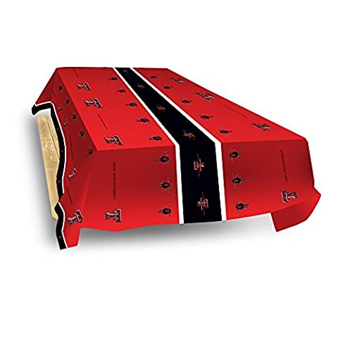 NCAA Texas Tech Red Raiders Table Cover, 54-inches by 108-inches