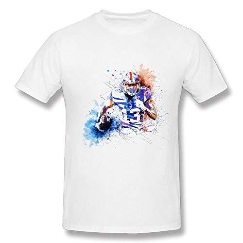 best website 100e5 096ef HSPTX® Odell Beckham Jr Football Cotton Men's T-Shirts Short Sleeve