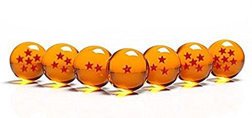 Alle 7 Dragonballs - 7 Dragonballs kaufen - Dragonballs kaufen für Cosplay Kostüm - Manga Anime Set Son-Goku - Vegeta - Shenlong Kugeln kaufen