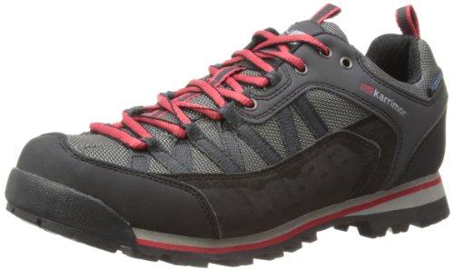 Karrimor Spike Low Weathertite, Scarpe da trekking ed escursionismo uomo, Colore Nero (nero/rosso), Taglia 42 EU (8 UK)