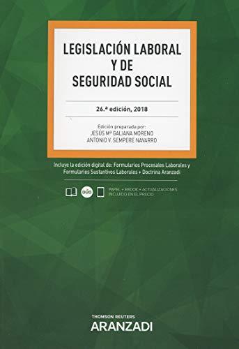 Legislación laboral y de seguridad social (Código Básico) por Jesús Mª Galiana Moreno