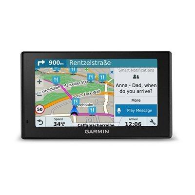 "Garmin DriveSmart 51 LMT-S Fijo 5"" TFT Pantalla táctil 173.7g Negro navegador - Navegador GPS (Multi, Europa del Sur, 12,7 cm (5""), 480 x 272 Pixeles, TFT, Horizontal) - Best Price"