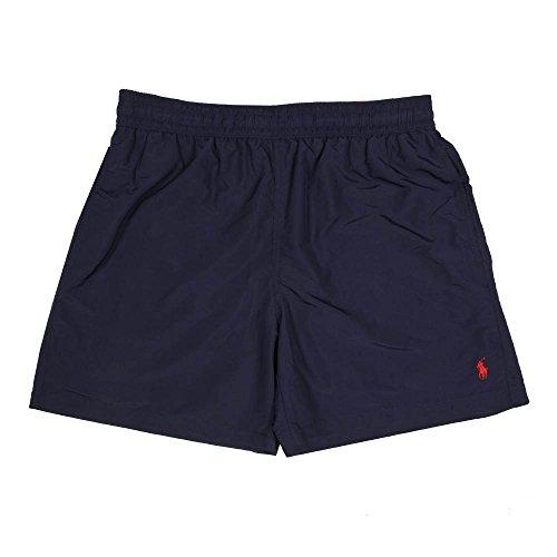 Ralph Lauren 5¾ - inch Hawaiian Badeshorts - Neue Kollektionen - Dunkelblau (M) (Badehose Polo Lauren Herren Ralph)