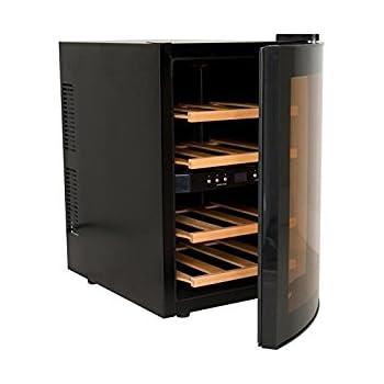 CASO WineDuett 12 Design Weinkühlschrank für bis zu 12 Flaschen (bis ...