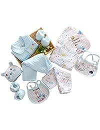 Vlunt Set de 10 prendas imprescindibles para recién nacidos, niños o niñas, ideal como regalo
