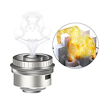 E Cigarette Coil 3-pack Fredest 60w E Shisha Sub-ohm 0.3ω Evaporator Atomiser Heads Organic Cotton Electronic Cigarette Coils Stainless Steel No Nicotine & Tobacco 1