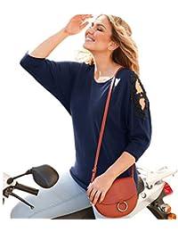 BELLÍSIMA Jersey con Aplicaciones de guipur Mujer - 022907