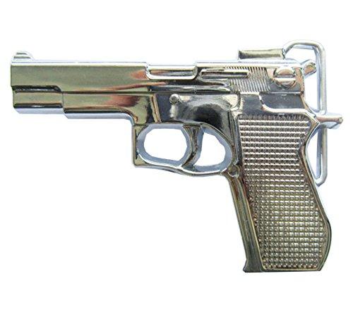 f3607dad0d7552 Gürtelschnalle Pistole 3D Optik für Wechselgürtel Gürtel Schnalle Buckle  Modell 155 - Schnalle123