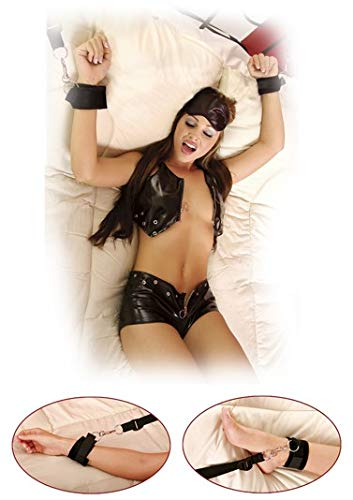 Fetish Fantasy Bed Bindings Restraint Kit, Black