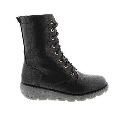 Heavenly Feet Womens Walker 2 Stivali Nero Nero