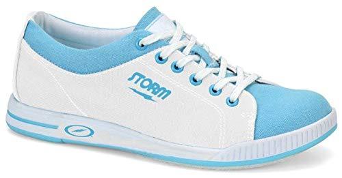 EMAX Bowling Service GmbH MAXIMIZE YOUR GAME Storm Meadow - Blau/Weiß - Bowlingschuhe für Damen Größe 40