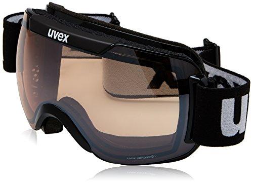 UVEX Skibrille downhill 2000 VM,VLM (Vario-light-mirror), Schwarz (Black)
