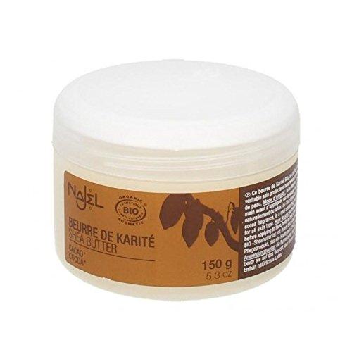 Najel Organic Shea Butter Cocoa 150g