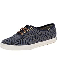 Keds Shoes - Keds Ch Tribal Met Navy Shoes - Navy