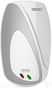 Usha Instafresh 1-Litre 3000-Watt Instant Water Heater (White Silver)