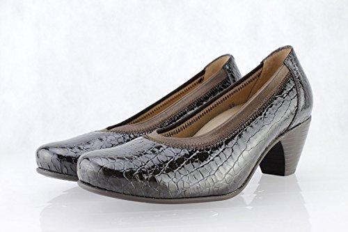 Chaussures Femme Confort Cuir Piesanto 175411 Décolleté Largeur Spéciale Caoba (brun)