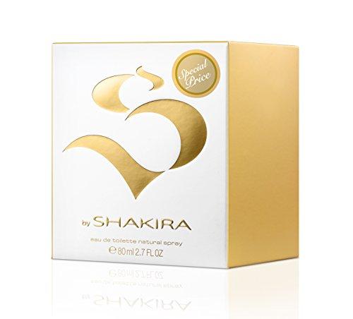 S By Shakira - Agua de tocador, 80 ml (precio: 14,90€)