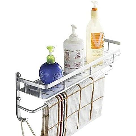 WYMBS Mensola del bagno,Moderno Per anodizzazione A