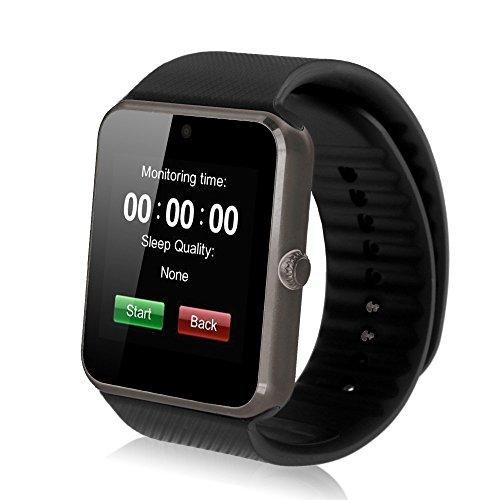 cfzc reloj inteligente, Bluetooth reloj reloj de pulsera teléfono con