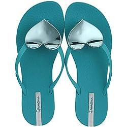 Ipanema Maxi Fashion II Fem, Chanclas para Mujer, Green 8550, 38 EU
