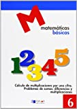 MATEMATICAS BASICAS - 6 Cálculo de multiplicaciones por una cifra