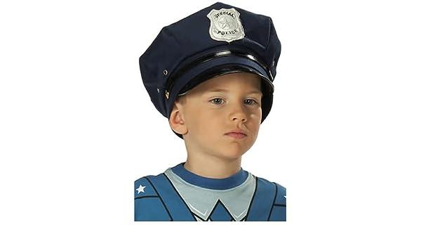 carnevale ed accessori Rubies cappello della polizia  Amazon.it  Giochi e  giocattoli 4b5048fcfe38