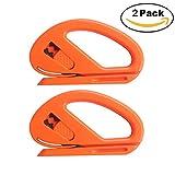EEFUN Snitty Sicherheitsschneider Folienschneider Auto Vinyl Wrap Schneidwerkzeug Carbon Fiber Cutting Anwendung Messer,Packung mit 2