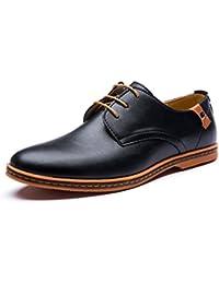 TribangkeLxms031 - Zapatos Planos con Cordones hombre