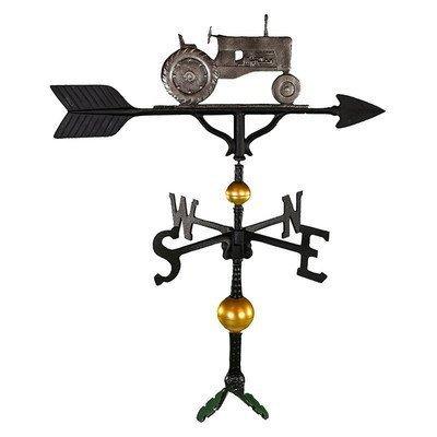 Montague Metall Produkte 32Deluxe Wetterfahne mit schwedischen Eisen Traktor Ornament von Montague Metall Produkte