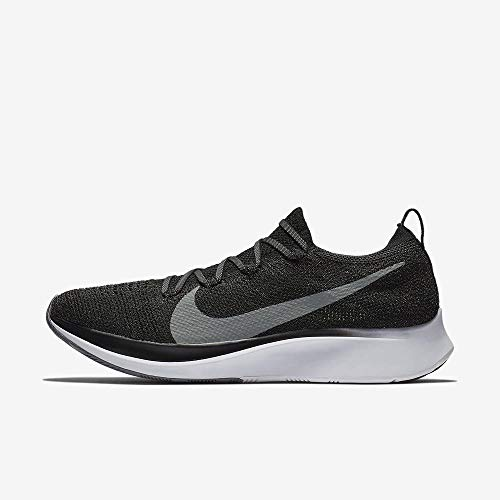 Nike Zoom Fly Flyknit, Scarpe Running Uomo, Multicolore (Black/Gunsmoke/White 001), 42 EU