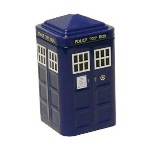 Doctor Who Tardis verzinnt Mints Lunch In Mini 3D Tardis Replica Tin Merchandise